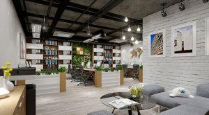 Văn phòng thiết kế theo phong cách ECO